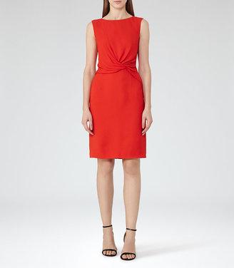 Erica Twist-Front Dress $320 thestylecure.com