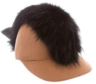 Fendi Wool Baseball Cap w/ Tags