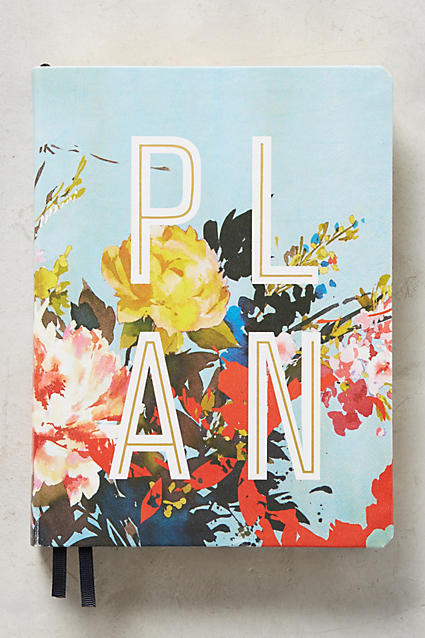 Helen Dealtry Floral Open-Dated Planner