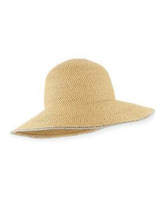 Eric Javits Hampton Squishee Packable Sun Hat, Beige $198 thestylecure.com