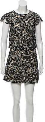 Alice + Olivia Knit Mini Skirt Set