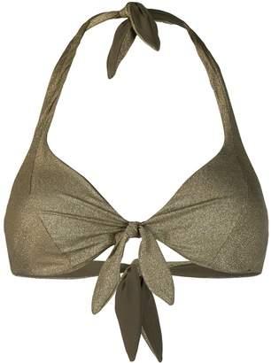 MC2 Saint Barth Camille knotted bikini top