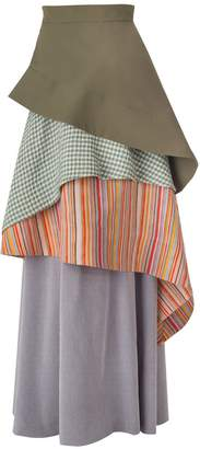 Daneh Waterfall Skirt Stripe