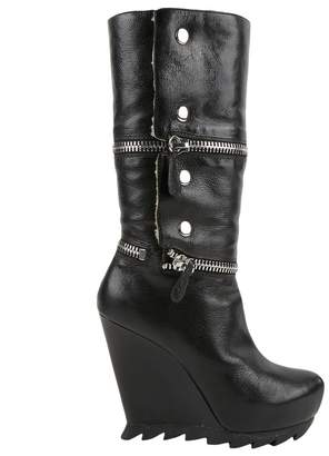 Camilla Skovgaard Black Leather Boots