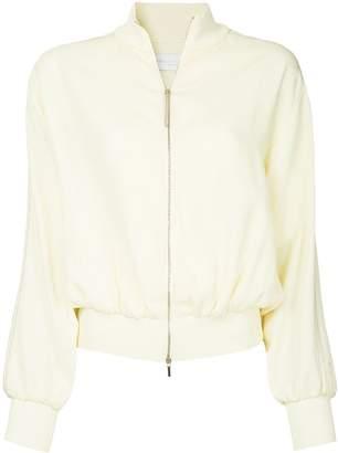 Fabiana Filippi zipped bomber jacket