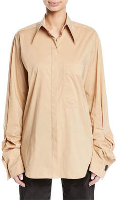 REJINA PYO Mira Oversized Button-Down Shirt