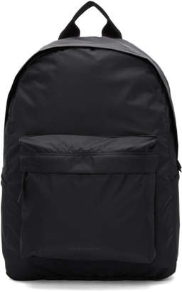 Norse Projects Black Nylon Day Pack Backpack