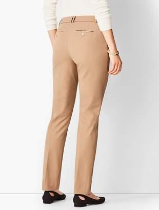 Talbots Bi-Stretch High-Waist Straight-Leg Pant