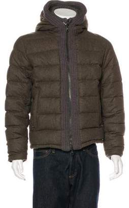Moncler Canut Wool Down Jacket