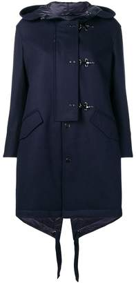 Fay toggle parka coat