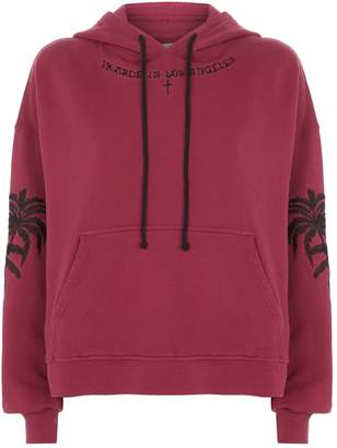Adaptation Embroidered Palm Tree Hoodie