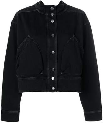 Valentino snap button denim jacket
