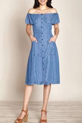 Yumi Chambray Jean Dress