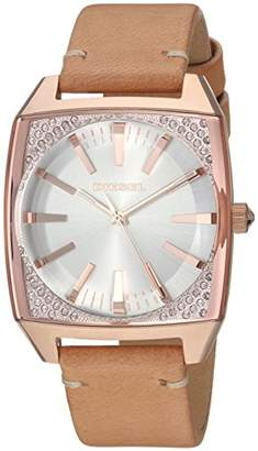 Diesel Women's 'Becky' Quartz Stainless Steel and Leather Casual Watch