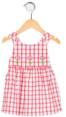 Florence Eiseman Girls' Appliqué-Accented Dress