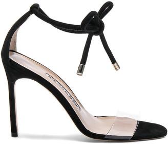 Manolo Blahnik Suede Estro 105 Sandals