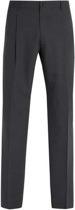Acne Studios Boston straight-leg wool-blend trousers