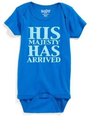 Sara Kety Baby & Kids 'His Majesty Has Arrived' Bodysuit