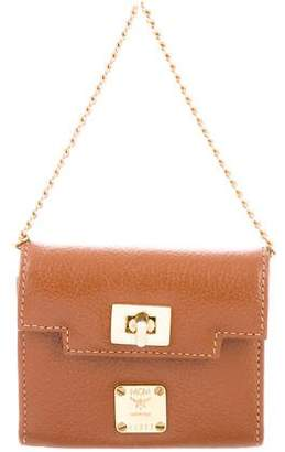MCM Leather Mini Bag
