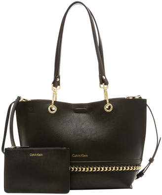 Calvin Klein H7DAU5NK Unlined Chain Tote Bag