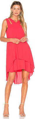 BCBGMAXAZRIA Kristi Dress in Red $198 thestylecure.com