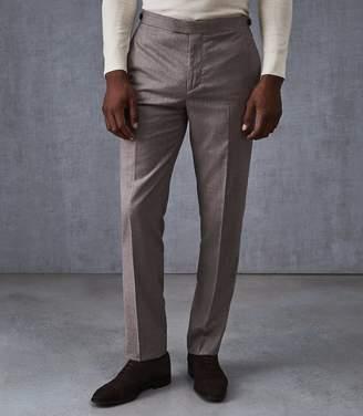 Reiss Welder Wool Slim Fit Trousers