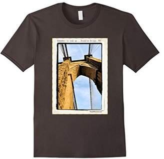 Brooklyn Bridge NYC - Inspirational Photo T-Shirt