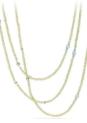 David Yurman Mustique Tweejoux Beaded Necklace