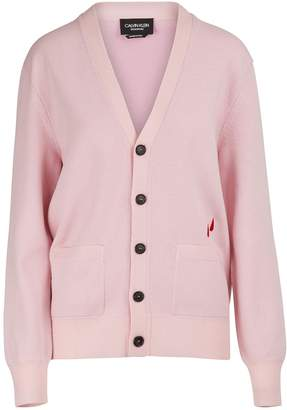 Calvin Klein Wool and cotton cardigan