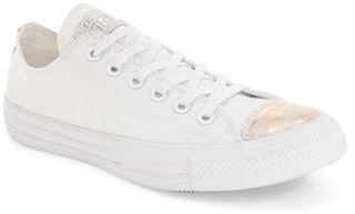 Women's Converse Chuck Taylor All Star 'Brush Off' Metallic Cap Toe Sneaker $59.95 thestylecure.com