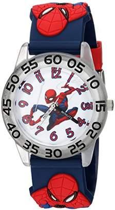 Marvel Boy's Spider-Man' Quartz Plastic Casual Watch