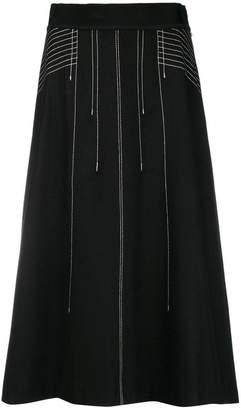 Sportmax Code A-line skirt