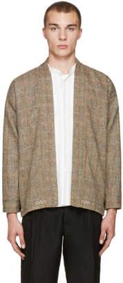 Visvim Beige Tweed Sanjuro Jacket