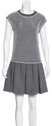 Chanel Knit Pleated Dress w/ Tags