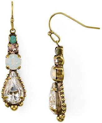 Sorrelli Crystal Linear Drop Earrings