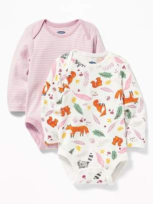 Old Navy Patterned Bodysuit 2-Pack for Baby