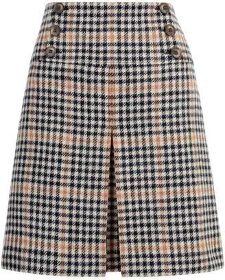 Hobbs Joy Check Skirt