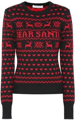 Philosophy di Lorenzo Serafini Dear Santa virgin wool sweater