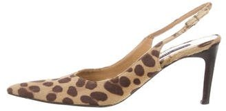 Ralph Lauren Collection Ponyhair Slingback Pumps $85 thestylecure.com
