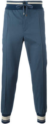 Dolce & Gabbana piped track pants