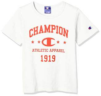 Champion (チャンピオン) - [チャンピオン] Tシャツ CE7292 ボーイズ オフホワイト 日本 120 (日本サイズ120 相当)