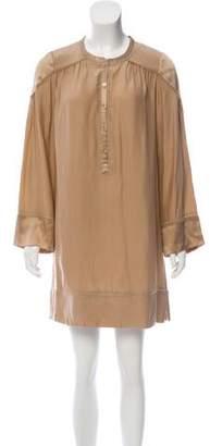 Zadig & Voltaire Silk Long Sleeve Dress