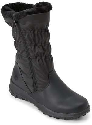 totes Black Ruby Waterproof Snow Boots $65 thestylecure.com