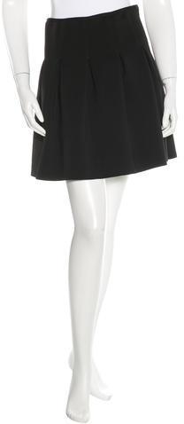 Alexander WangT by Alexander Wang Pleated Mini Skirt