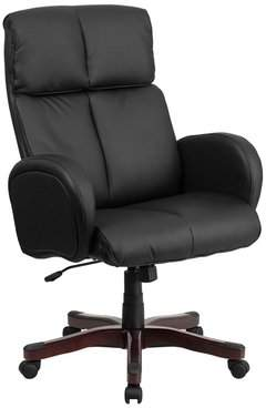 Latitude Run Dermody High-Back Leather Executive Chair