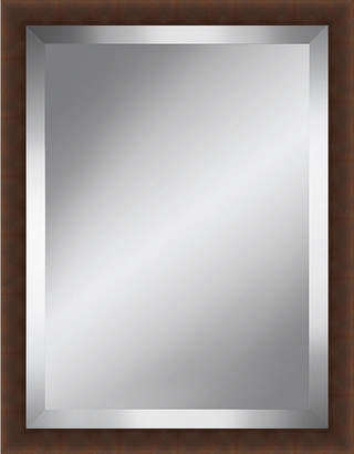 Asstd National Brand Brown Beveled Plate Mirror