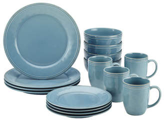 Rachael Ray Cucina 16 Piece Dinnerware Set, Service for 4