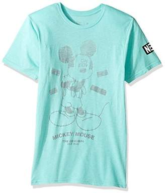 Disney Men's X Neff Mickey Mouse Short Sleeve T-Shirt