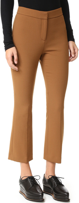Theory Erstina Cropped Flare Pants $295 thestylecure.com