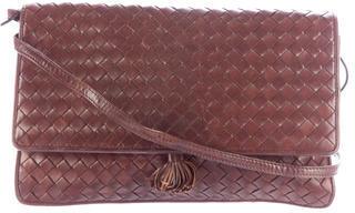 Bottega VenetaBottega Veneta Intrecciato Leather Crossbody Bag